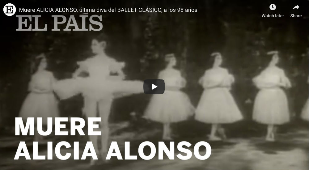 Alicia Alonso: Video of a Ballet Legend
